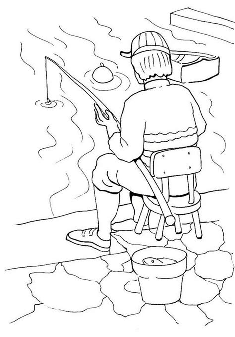 river fish coloring pages fisherman fishing in the river coloring page coloring sky