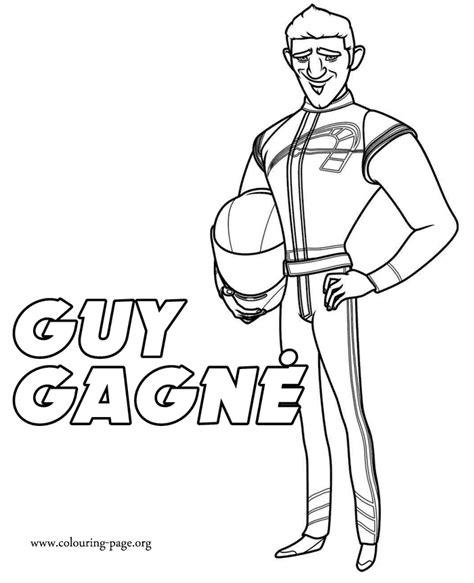 cartoon race car driver   clip art