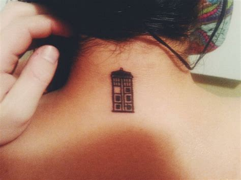 tardis tattoo designs tiny tardis impressive ideas
