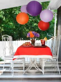 outdoor party decorating ideas food network summer