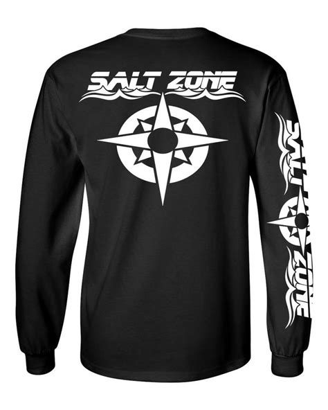 Kaosbajutshirt Salt Zone Fish 8 best salt zone performance wear images on salt salts and fishing shirts