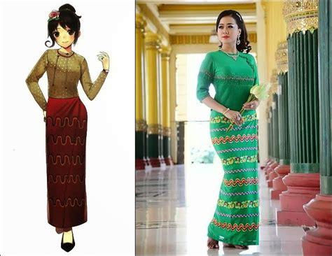 burmese traditional dress fashion traditional costumes around the world inspiration