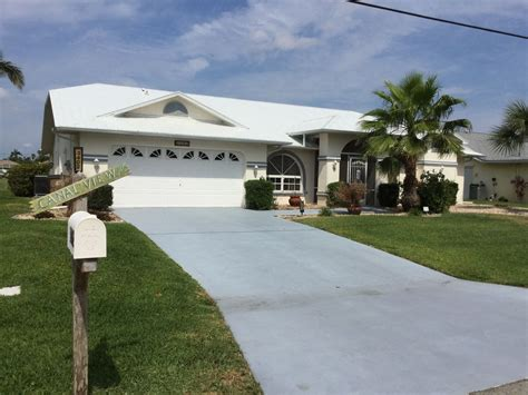 boat lift rentals cape coral luxury 5 star water front villa with private pool dock