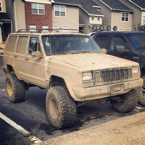 muddy jeep cherokee 124 best jeep jumping into past images on pinterest jeep