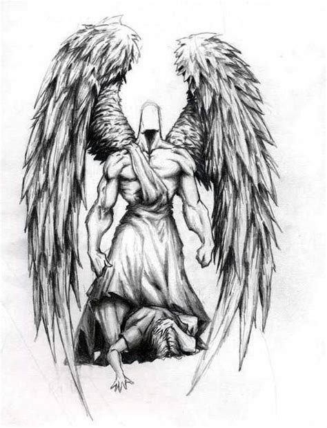 black angel tattoos designs designs ideas guardian designs