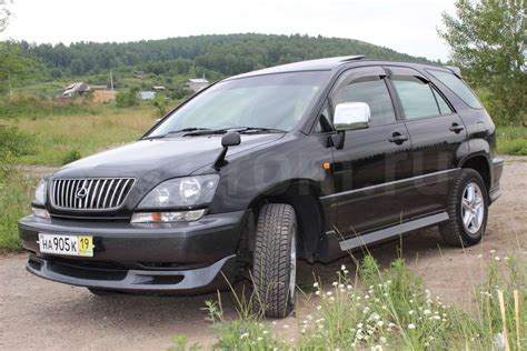 pictures of toyota harrier 2002 toyota harrier pictures information and specs