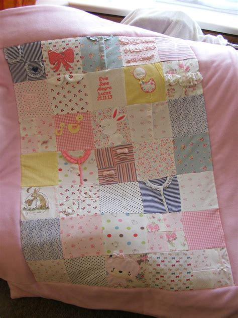 Patchwork Quilt Out Of Baby Clothes - 25 best ideas about baby memory quilt on baby