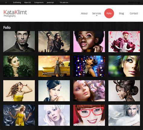 html5 photo gallery template free kata klimt free responsive html5 template creative beacon