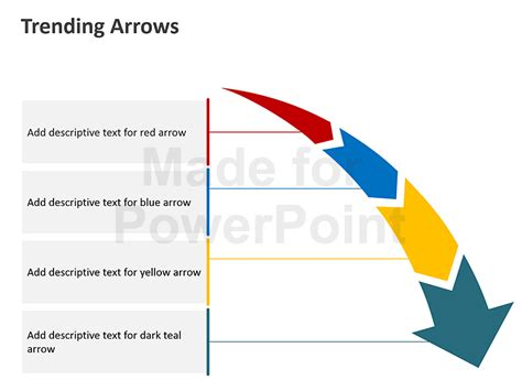 Trending Arrows Editable Powerpoint Presentation Arrows For Powerpoint Presentations