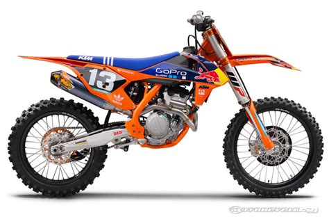 Ktm Sx 250f 2016 Ktm 450 Sx F And 250 Sx F Factory Edition Look