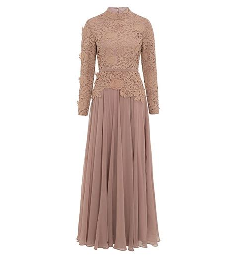 Dress Muslim Inayah evening gown 163 89 99 inayah islamic clothing