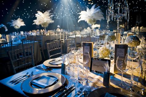1920 theme decorations plan a wedding on a budget 1920 s great gatsby theme