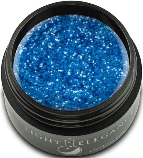 led le nägel light elegance uv led glitter gel dazzling 57 oz 17 ml