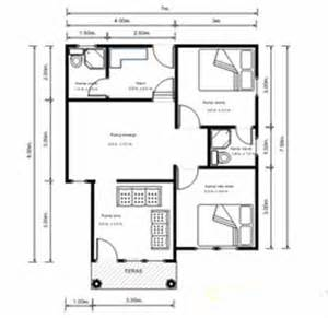 contoh denah rumah minimalis contoh rumah minimalis
