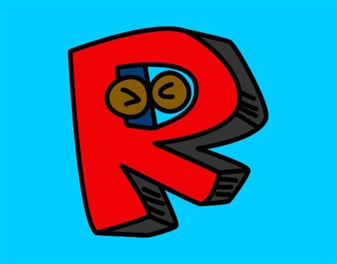 desenho de letra m pintado desenho de letra r pintado e colorido por murillo o dia 17 de mar 231 o do 2012