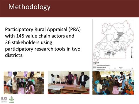 Pra Participatory Rural Appraisal value chain actors practices associated with the spread of s