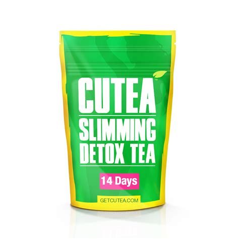 Slim Detox Tea by Cutea Slimming Detox Tea 14 Days Cutea Slimming Detox Tea
