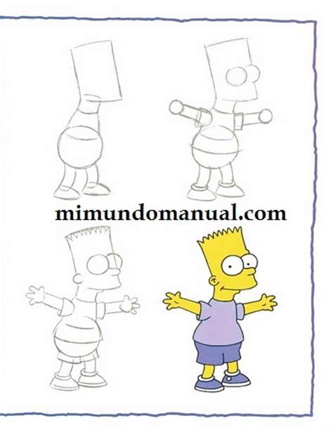 Como Aprender A Dibujar A Los Simpson Mimundomanual | como aprender a dibujar a los simpson mimundomanual