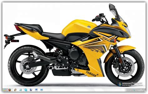 theme windows 7 yamaha r1 yamaha fz6 windows 7 theme download
