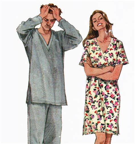 v neck shirt pattern mens womens pajamas pattern pyjamas v neck sleep shirt