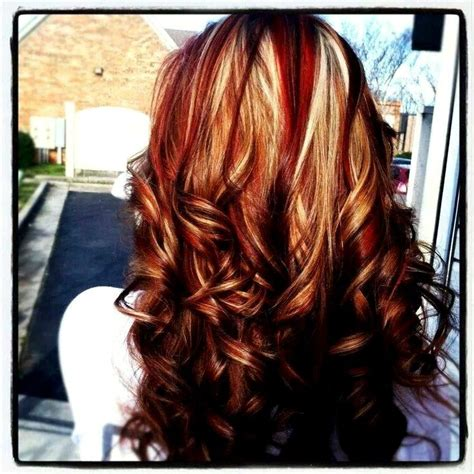 hairstyles red and blonde 10 best images about hairstyless on pinterest scene hair