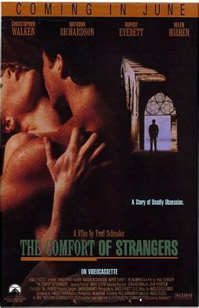 the comfort of strangers trailer the comfort of strangers 1990 starring natasha