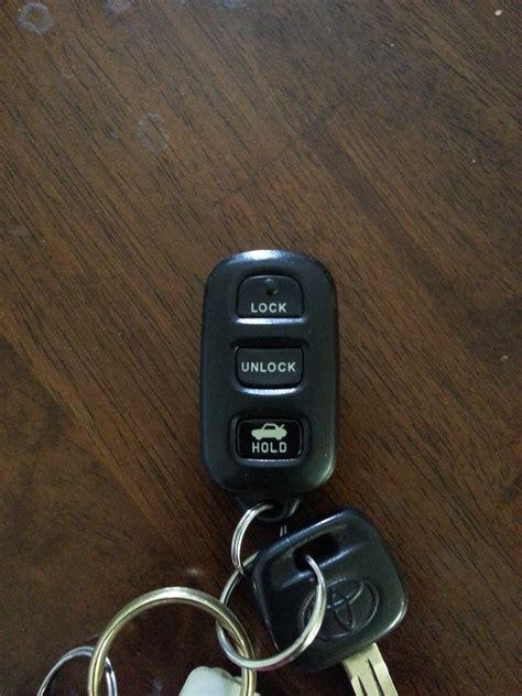 Open Toyota Key Fob Camry I A 1994 Toyota Camry When I Push The Unlock