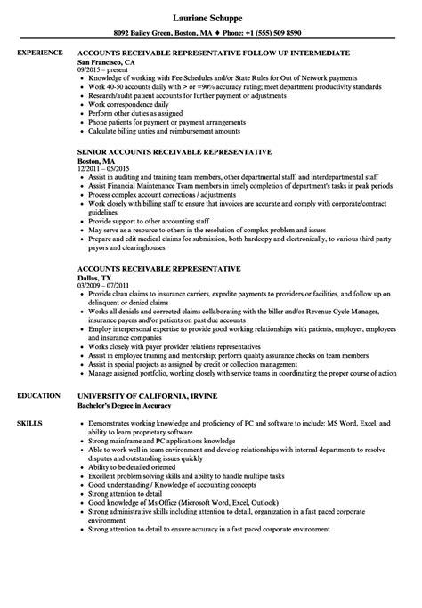accounts payable and receivable resume lukex co