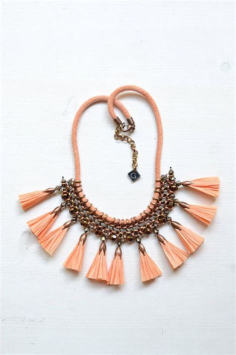 Tassel Statement Necklace tassel necklace tassels and statement necklaces on