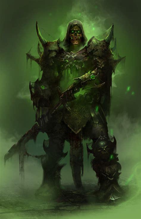 undead knight  behance