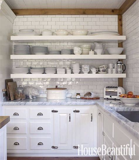 1000 ideas about open shelf kitchen on open