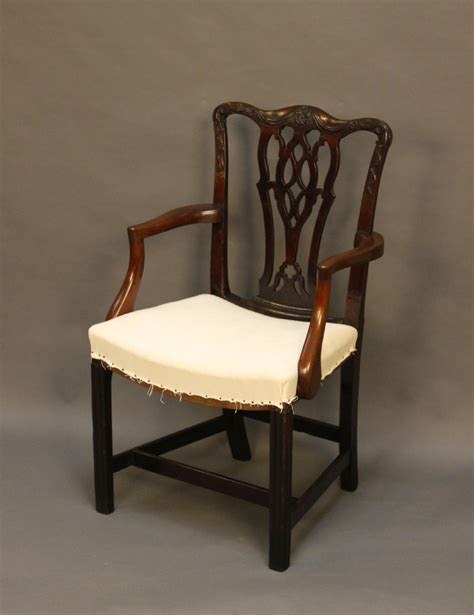 Antique Dining Chair Georgian Carver Dining Chair 259531 Sellingantiques Co Uk