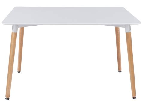 modern white rectangular dining table abdabs furniture aspen rectangular white dining table