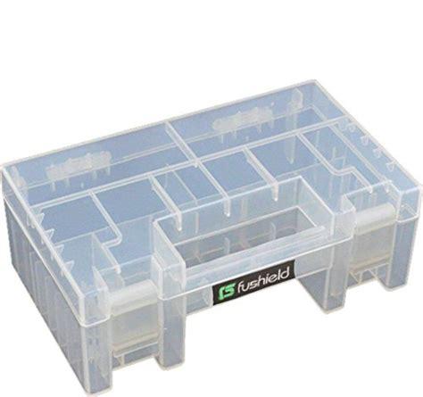 aa battery storage container fushield battery storage organizer holder box