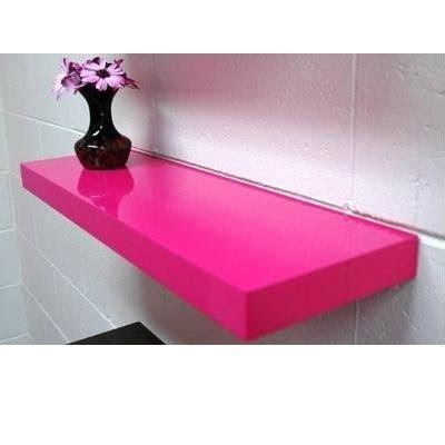 Pink Floating Shelf pin by la la on s room