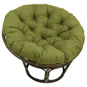 chair with cushion bungalow benahid outdoor rattan papasan chair with