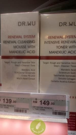 Detox With The Doctors Strobe by Dr Wu Renewal Cleansing Mousse With Mandelic Acid