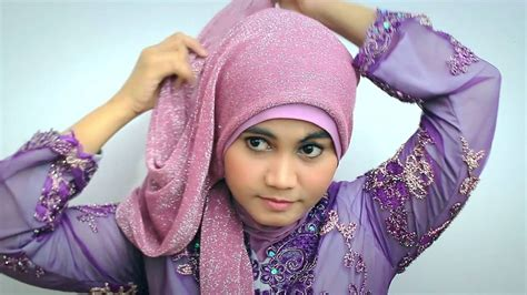 tutorial hijab graduation hijab tutorial kebaya modern graduation day youtube