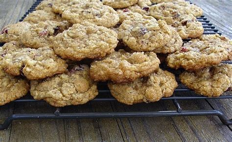 a whole grain oatmeal whole grain oatmeal cookies with cranberries walnuts