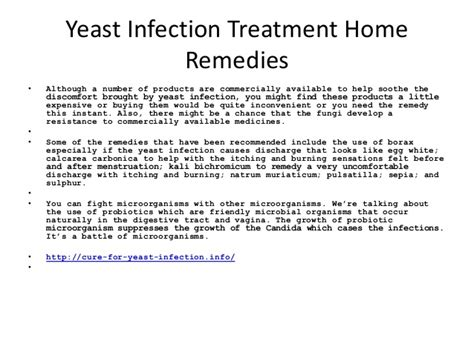 Yeast Infection Home Remedies by Yeast Infection Treatment Home Remedies