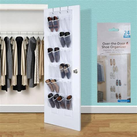 24 pockets hanging the door the door shoe organizer rack hanging storage 24 pockets
