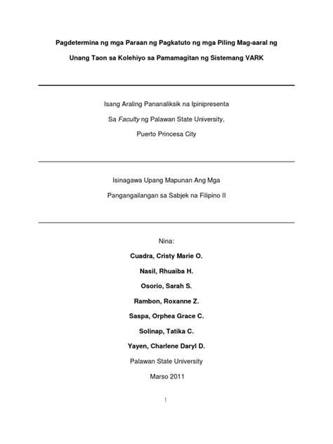 abstrak ng thesis tagalog halimbawa ng thesis sa filipino tungkol sa wika