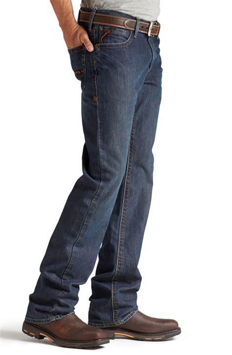 mens low rise boot cut ariat 174 mens m4 resistant low rise boot cut shale