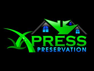 xpress design logo xpress preservation logo design 48hourslogo com
