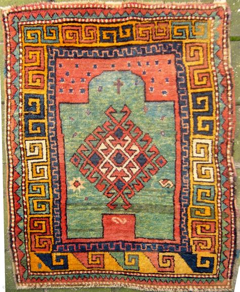 christian rugs zakatala quot christian quot prayer rug 140 x 100 cm 4 8 quot x 3 4 quot ca 1850 1870 with bold graphics