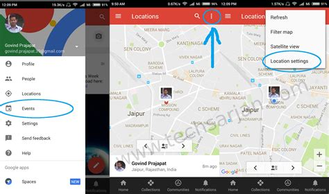 location android how to track friend s location in xiaomi redmi mi phones miui 7 8 tech sarjan