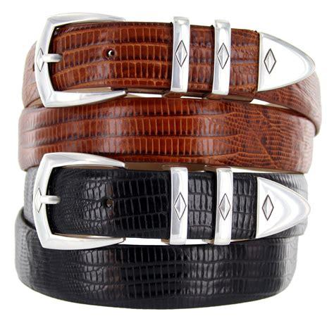 s italian leather designer dress belt