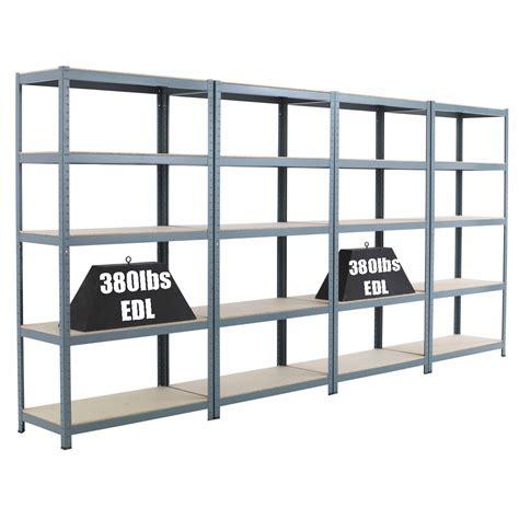 metal garage shelves 10x 5 shelf units 71 quot hx36 quot wx18 quot d steel storage garage shelving racking shelves ebay