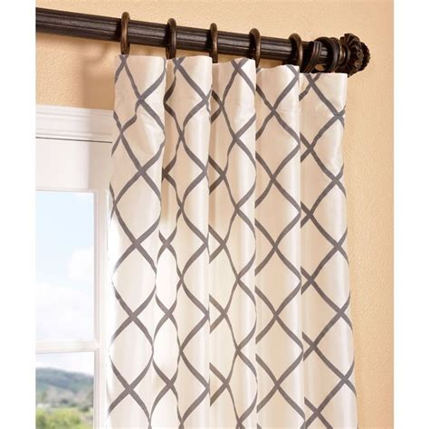 kravet faux silk drapes curtains burgundy red pleated top 17 best ideas about faux silk curtains on pinterest
