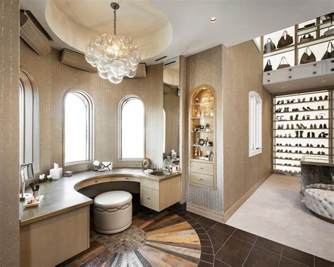 Luxurious Closet by Luxury Walk In Closets
